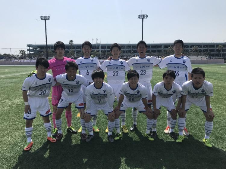 関東サッカーリーグ1部 前期第1節 vs.ブリオベッカ浦安 試合結果