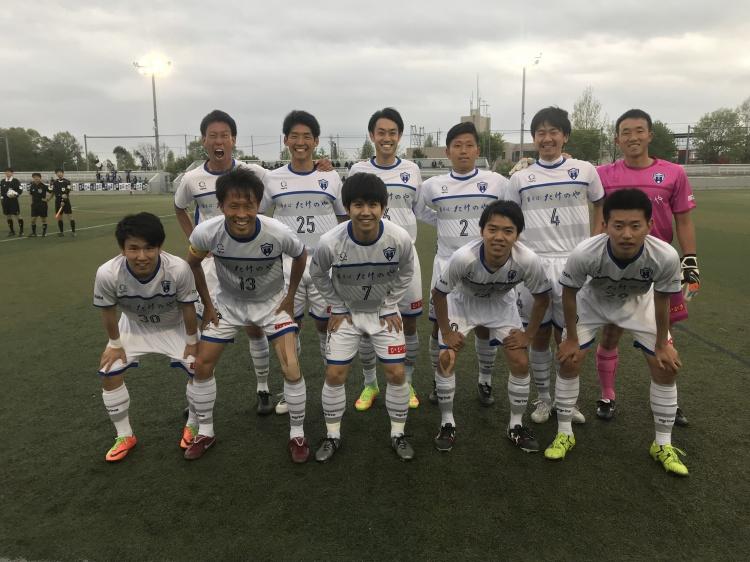 関東サッカーリーグ1部 前期第3節 vs.ジョイフル本田つくばFC 試合結果