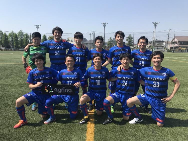 埼玉県社会人サッカーリーグ2部B 第4節 vs.SFC 試合結果