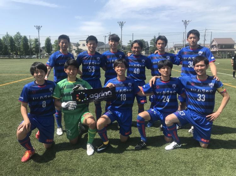 埼玉県社会人サッカーリーグ2部B 第6節 vs.F.Children 試合結果