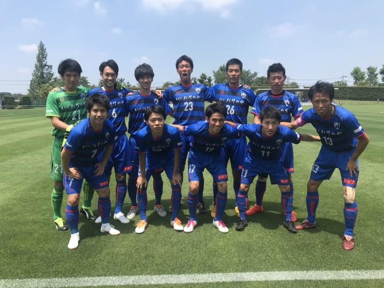 関東サッカーリーグ1部 後期第1節 vs.ブリオベッカ浦安 試合結果