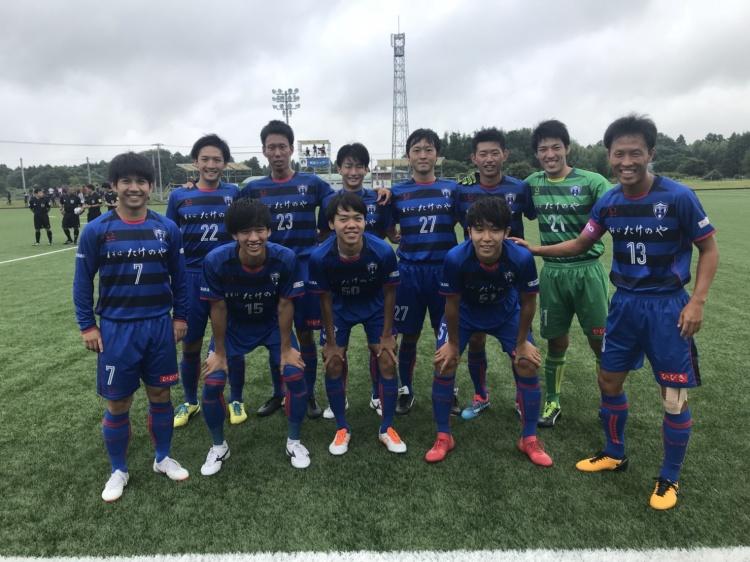 関東サッカーリーグ1部 後期第6節 vs.流通経済大学FC 試合結果