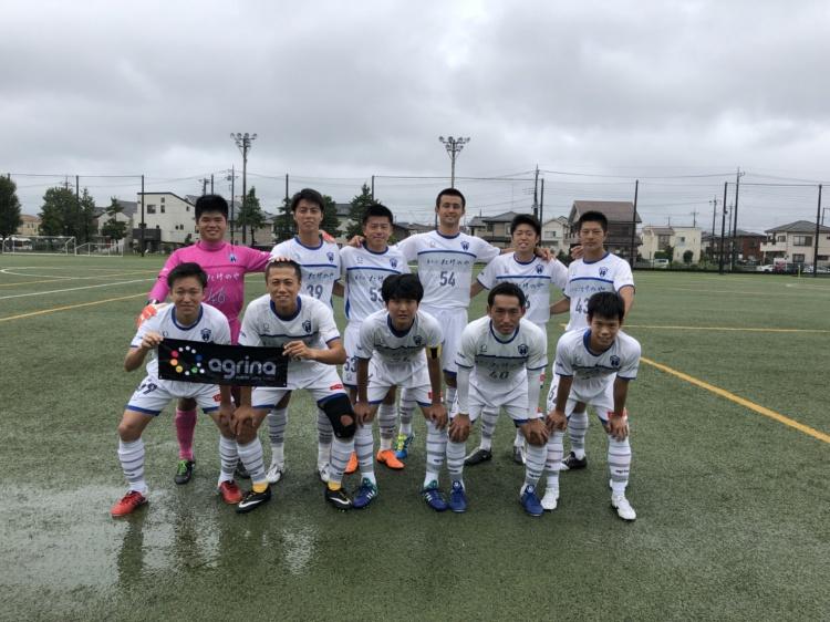 埼玉県社会人サッカーリーグ2部B 第12節 vs.杉戸クラブ 試合結果