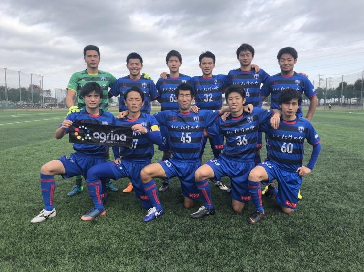 埼玉県社会人サッカーリーグ2部B 第16節 vs.クラブフェニックス 試合結果