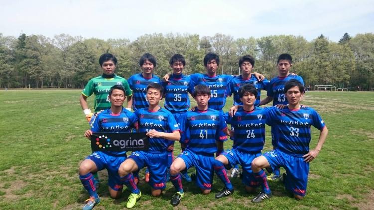埼玉県社会人サッカーリーグ2部B 第3節 vs.北坂戸SC 試合結果