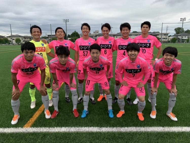 「関東サッカーリーグ2部 前期第9節 vs.ヴェルフェ矢板」試合結果
