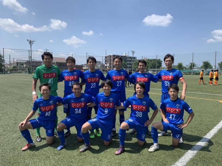 「埼玉県社会人サッカーリーグ2部A 第11節 vs.SFC」 試合結果