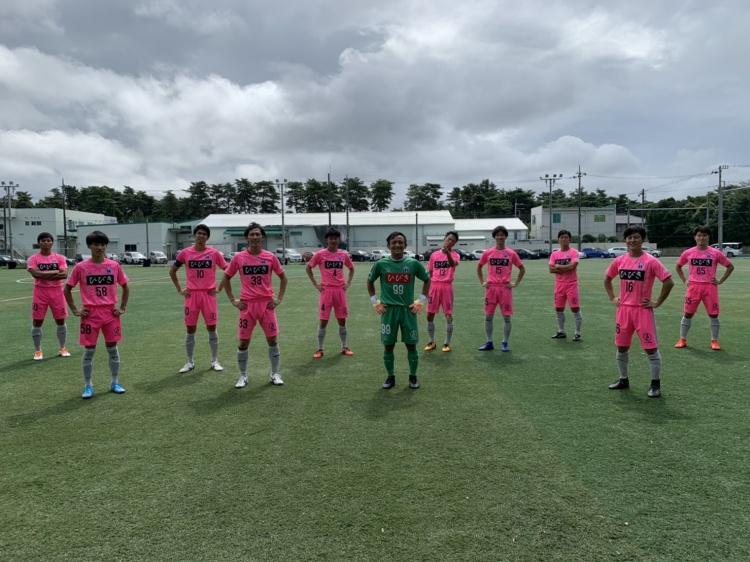 「関東サッカーリーグ2部 後期第5節 vs.アイデンティみらい」試合結果