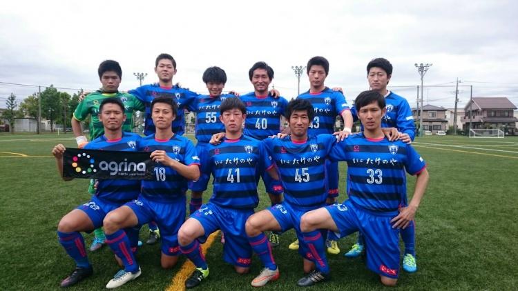 埼玉県社会人サッカーリーグ2部B 第7節 vs.狭山アゼィリア 試合結果