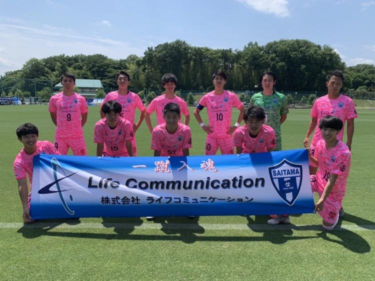 「関東サッカーリーグ2部 前期第7節 vs.アヴェントゥーラ川口」試合結果