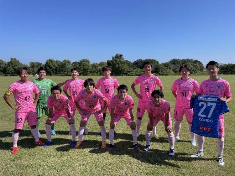 「埼玉県社会人サッカーリーグ2部B 後期第1節  vs.RSF」試合結果