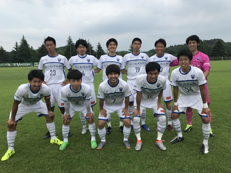 関東サッカーリーグ1部 後期第1節 vs.ヴェルフェたかはら那須 試合結果