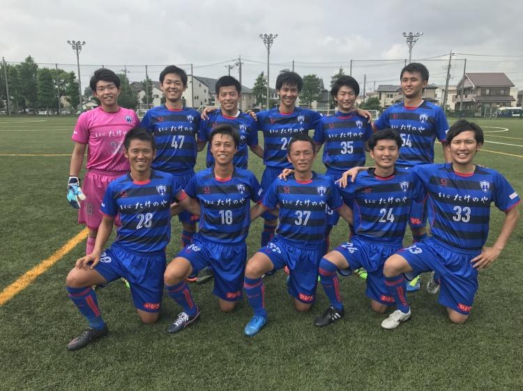 埼玉県社会人サッカーリーグ2部B 第10節 vs.チームニッポン 試合結果