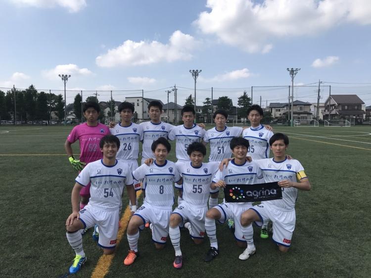 埼玉県社会人サッカーリーグ2部B 第14節 vs.FC西武台 試合結果