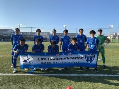 「関東サッカーリーグ2部 後期第3節 vs.南葛SC」試合結果