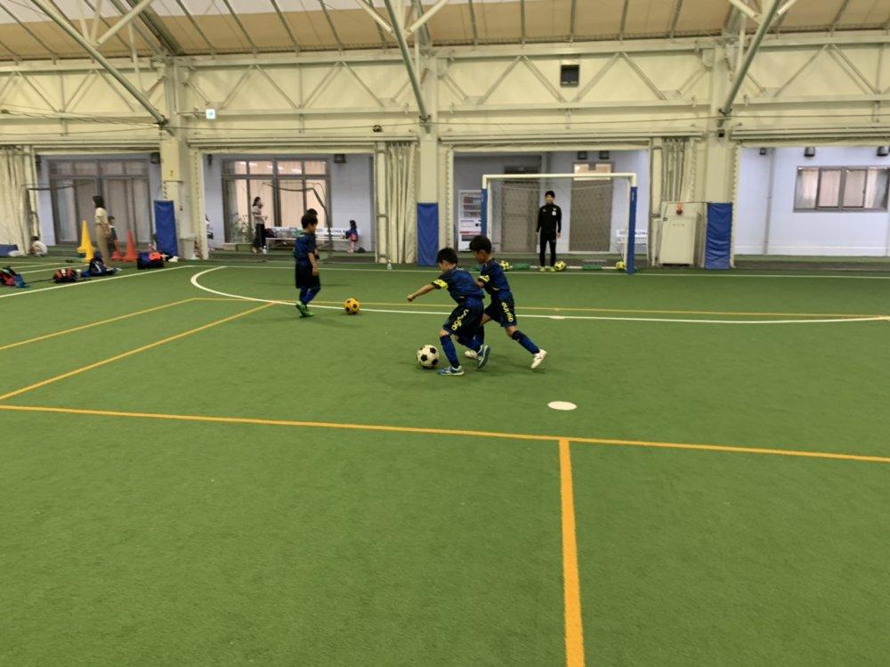 「新しいトレーニング!」  セリオサッカースクール日誌(与野校)