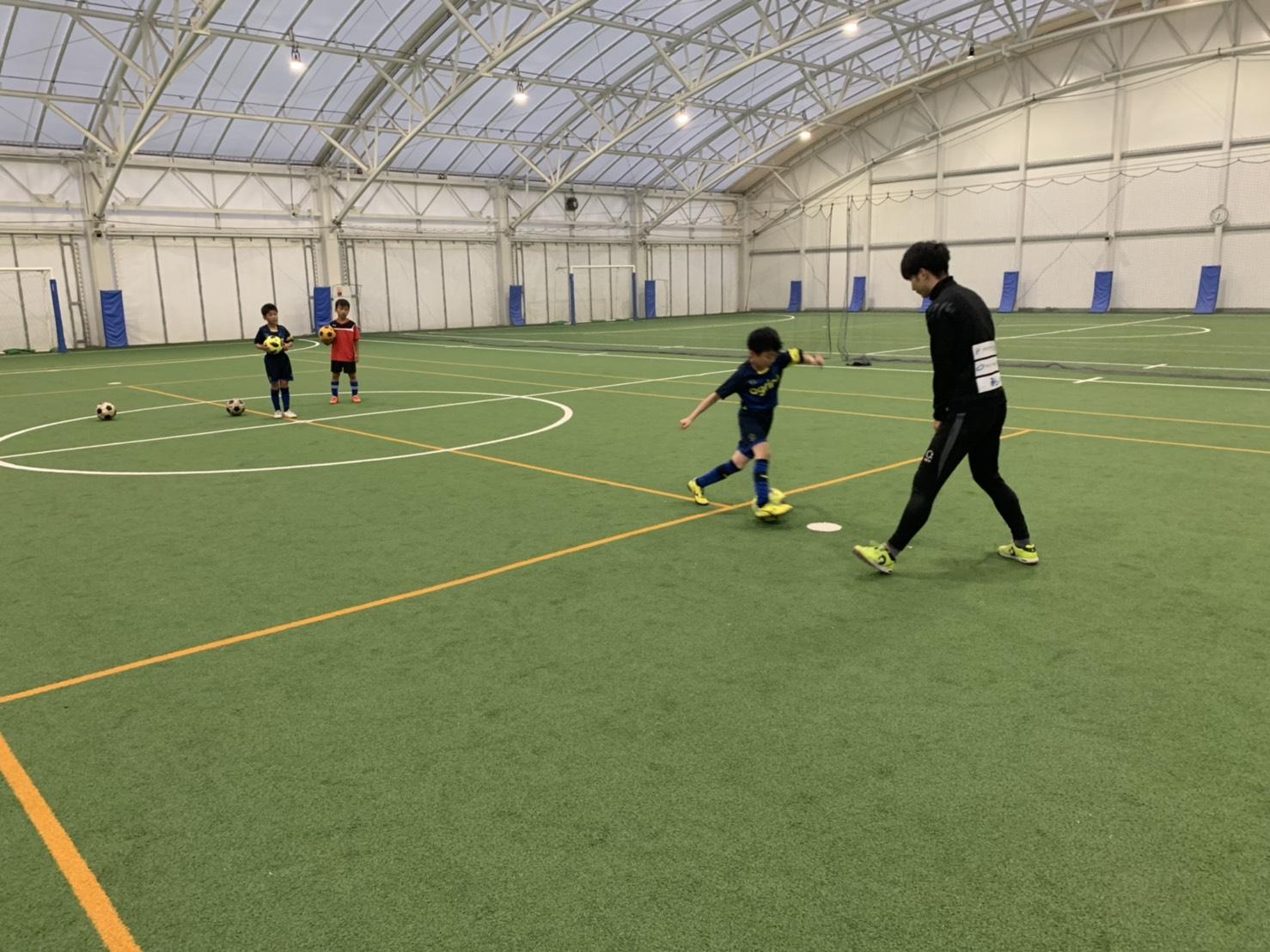 上尾でサッカーを学ぶ