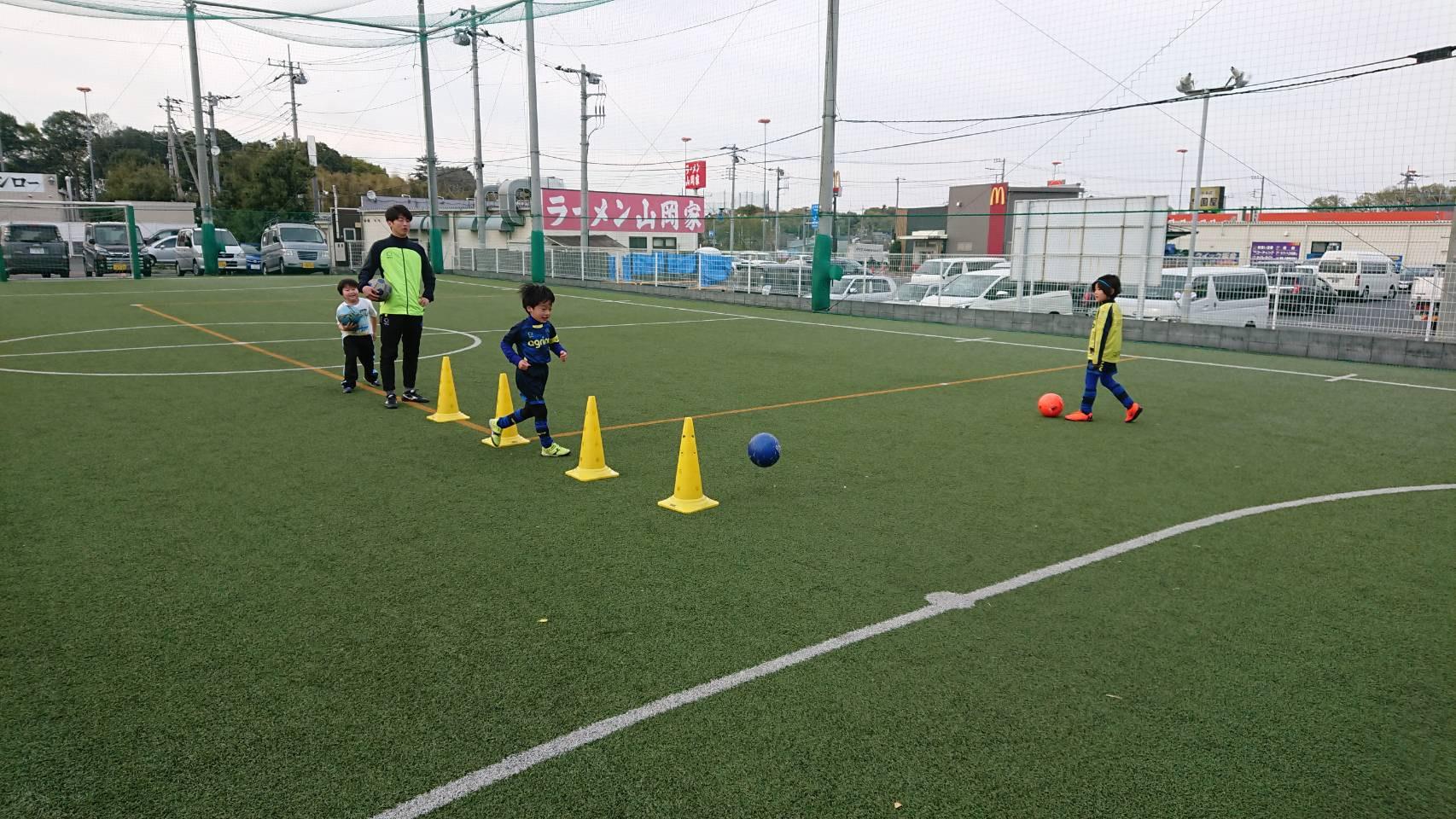 宮原でサッカースクール